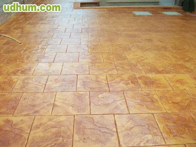 Pavimento de hormigon impreso cantabria 1 for Cemento impreso madrid