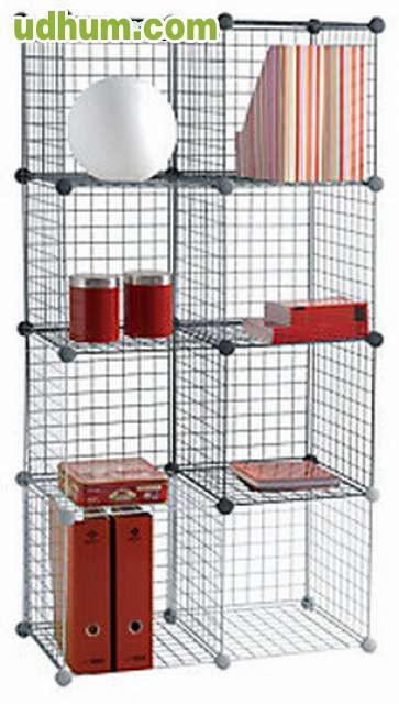 estanter a modular 4. Black Bedroom Furniture Sets. Home Design Ideas