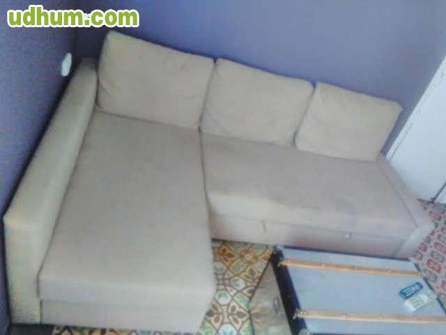 Sofa cama plazas chaise longue ikea for Ikea sofa cama chaise longue