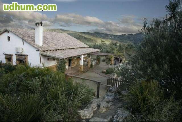 Casa rural con piscina y barbacoa 4 for Casa rural sevilla piscina
