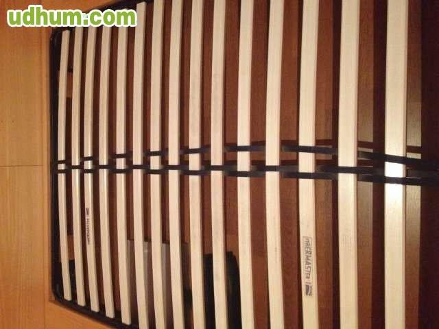 Fut n japon s cama tatami de madera - Somier japones ...