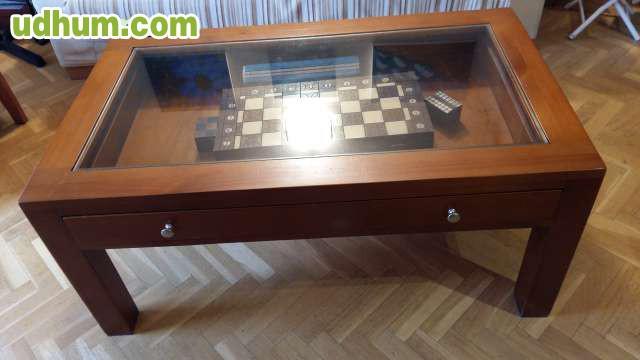 Mesa centro de salon madera maciza - Mesa salon madera ...