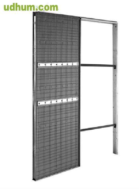 Estructura metalica puerta corredera - Puerta corredera metalica ...