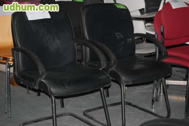 Oferta sillas confidente baratas negras for Sillas comedor negras baratas