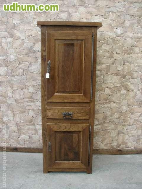 Mueble auxiliar de roble macizo romueble 1 - Muebles rusticos asturias ...
