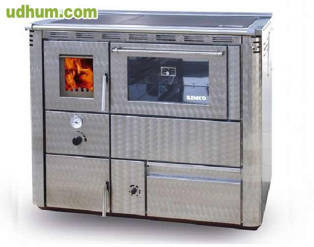 Cocina de le a para radiadores horno - Estufa de lena para radiadores ...