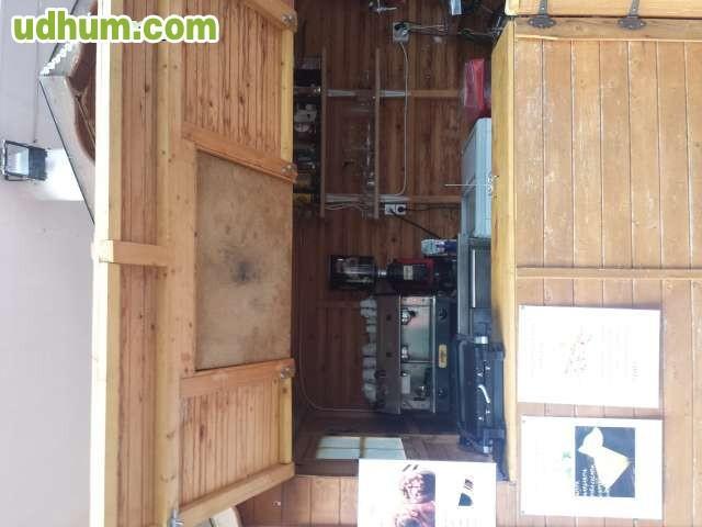 Vendo caseta de madera for Vendo caseta de madera para jardin