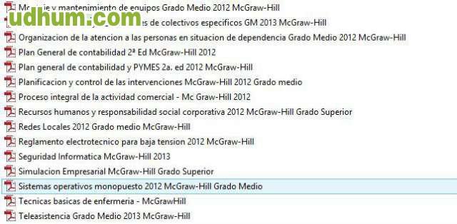 Libros mc graw hill ciclos fp pdf Ciclos formativos de grado superior valencia