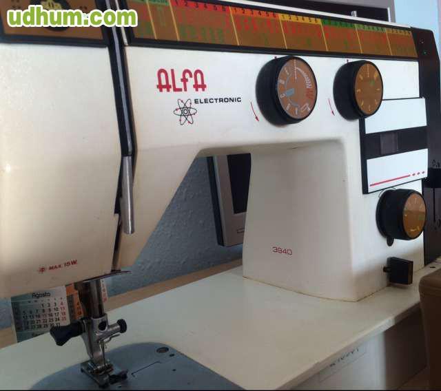 MAQUINA DE COSER ALFA ELECTRONIC 3940