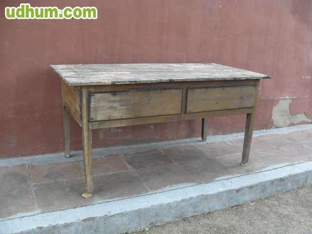 Antigua mesa de cocina - Mesas antiguas de cocina ...