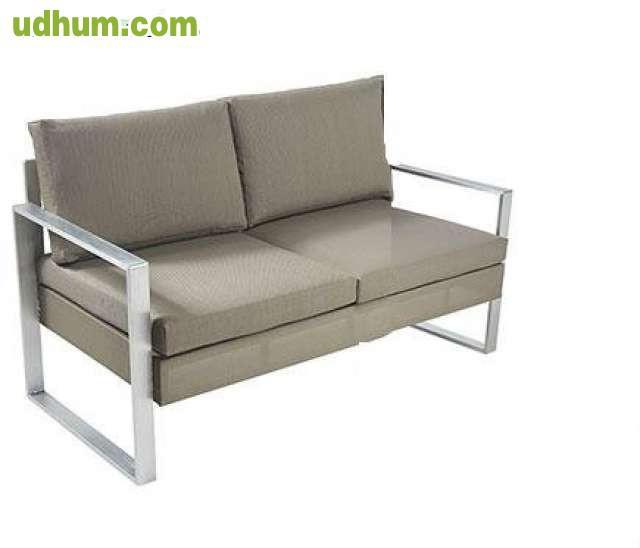 Vendo conjunto de jardin en aluminio for Conjunto jardin aluminio