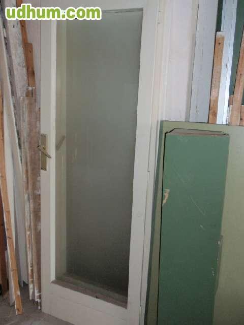 Lote de 2 puertas de balcon usado for Puertas balcon usadas