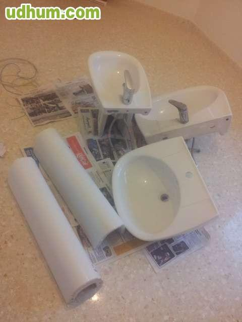Lavabo pila y bide for Pilas de lavabo