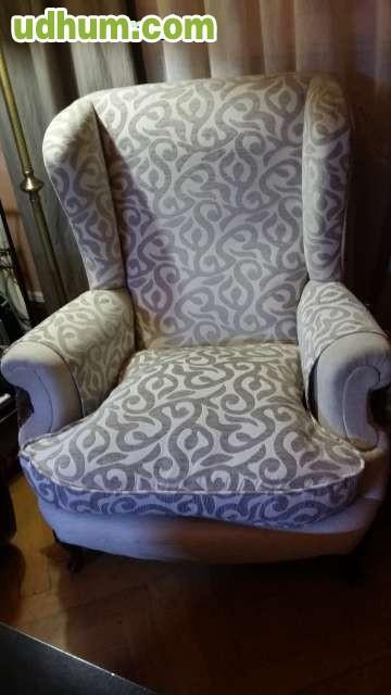 Vendo sofa tres plazas piel dos orejeros for Cheslong dos plazas