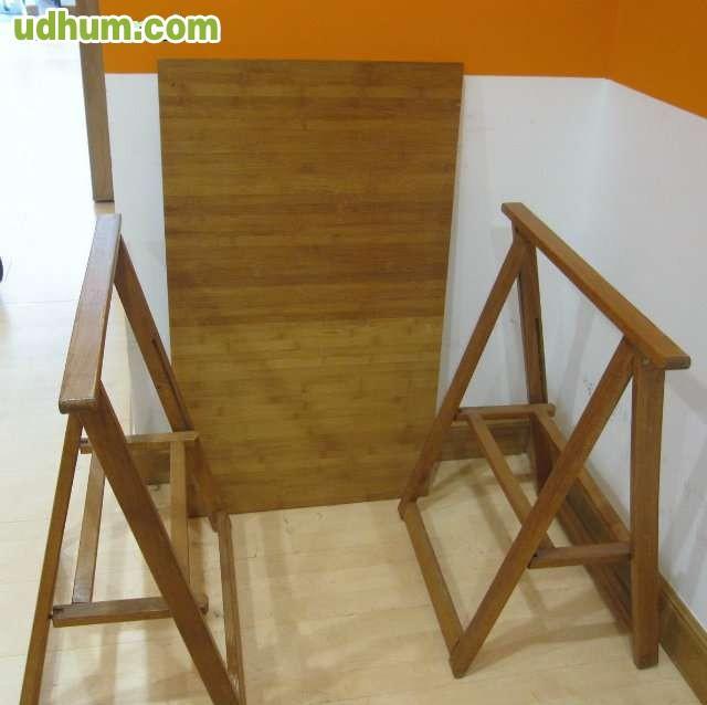 Tablero con 2 caballetes de madera - Tableros de madera medidas y precios ...