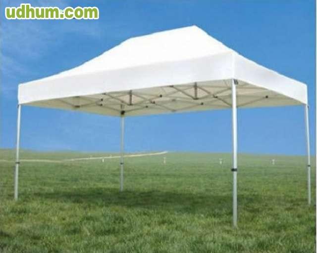 Carpas plegables para terrazas for Carpas 4x4 precios