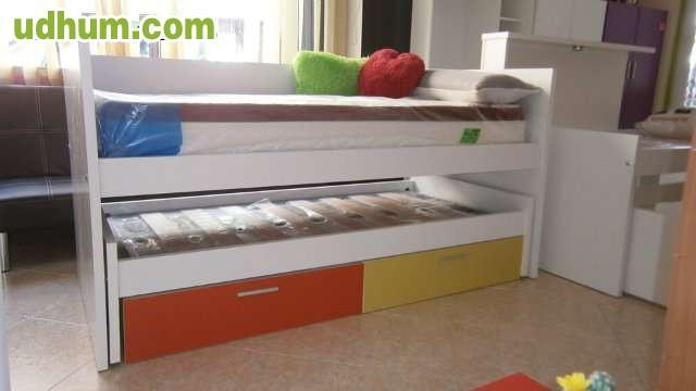 Promocion cama compacta en 195 1 for Cama compacta oferta