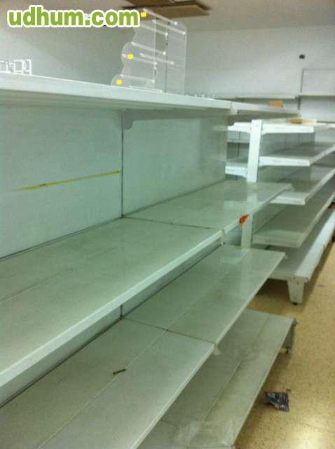 Estanterias blancas de aluminio - Estanteria de aluminio ...