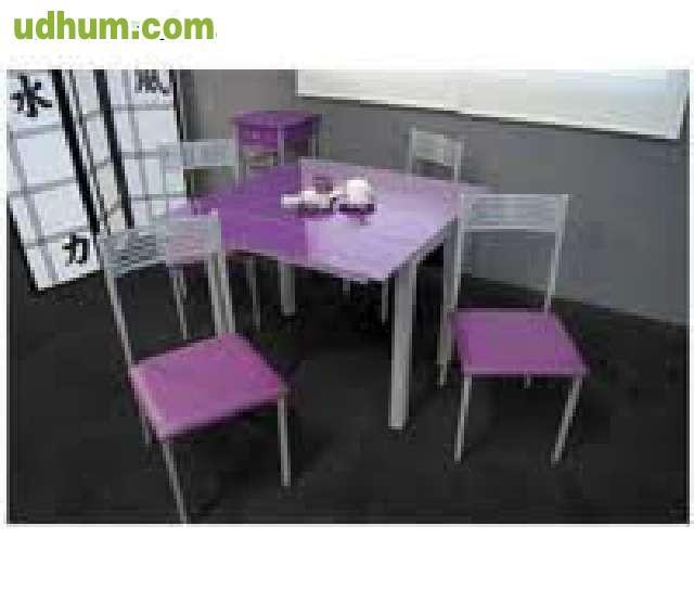 Liquidacion de mesa de cocina 4 sillas for Liquidacion mesas sillas jardin