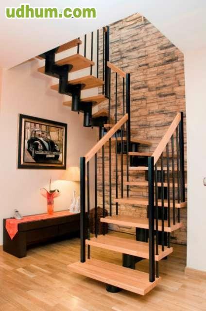 Escalera tramos rectos en forma de u for Formas de escaleras