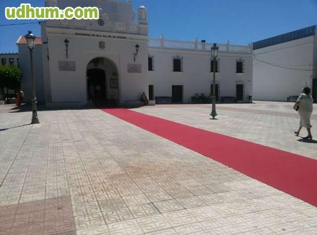Alquiler de alfombras rojas para bodas - Alquiler alfombras ...