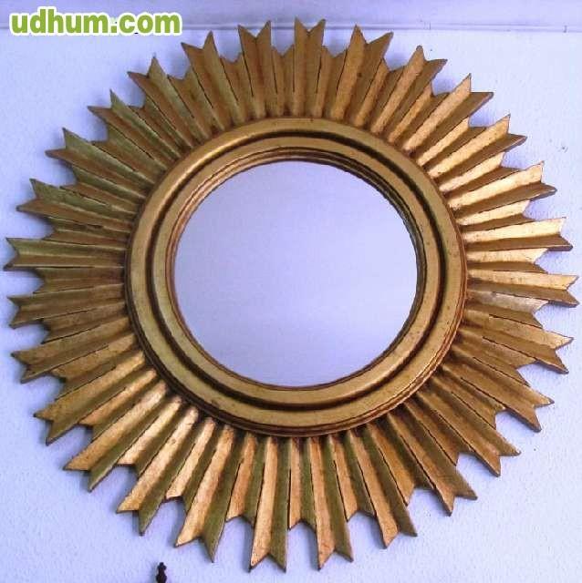 Espejo en forma de sol for Espejos en forma de sol