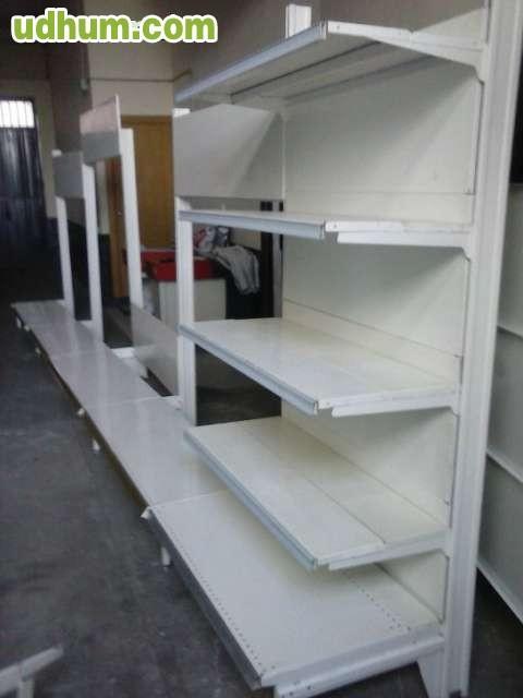 Vendo estanterias metalicas 1 - Estanterias metalicas blancas ...