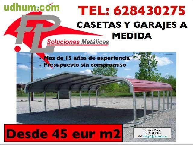 Soluciones met ticas for Casetas metalicas a medida