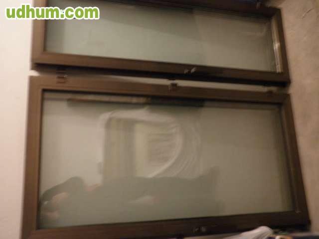 Persianas aluminio y hojas de ventana for Ventanas de aluminio color bronce
