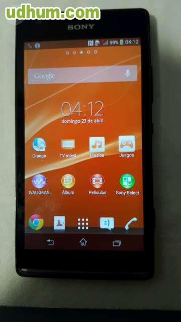 ef144094fc3 compra venta de telefonos moviles nuevos y de segunda mano en Vigo  Pontevedra al mejor precio. Libre móvil de segunda. Móvil sony xperia sp,  color.