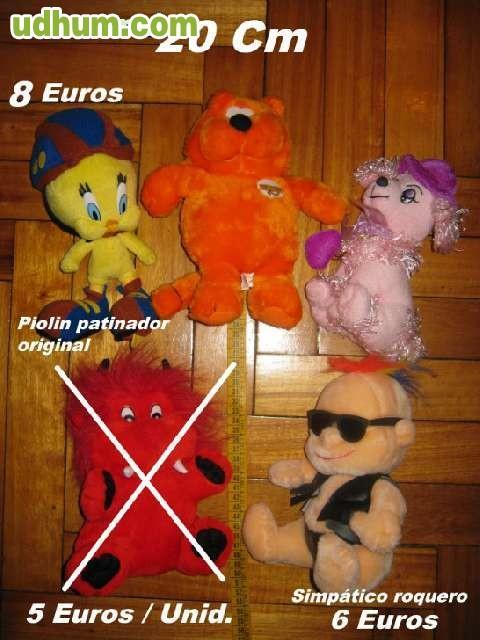 Peluches varios de 16 a 30 cm - Peluches a 1 euro ...