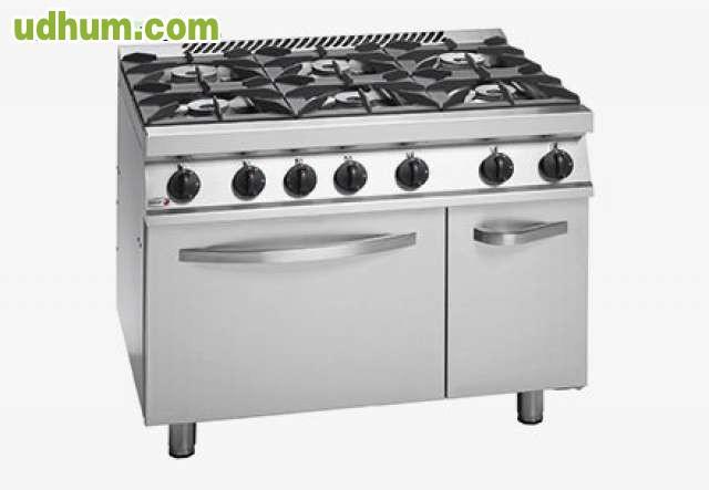 Cocina 6 fuegos con horno nueva 3 for Cocinas a gas nuevas