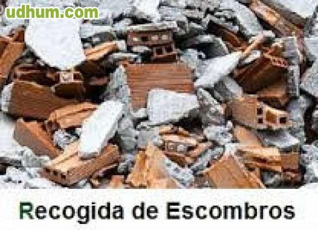 Reto Madrid Recogida Muebles : Recogida de material escombros