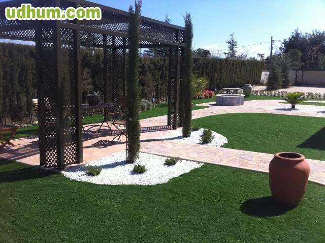 Cenador jardin metalico pergola for Cenador para jardin