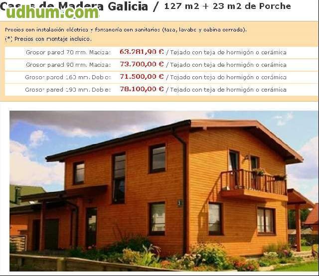 Casa de madera modelo galicia - Casas de madera en galicia baratas ...