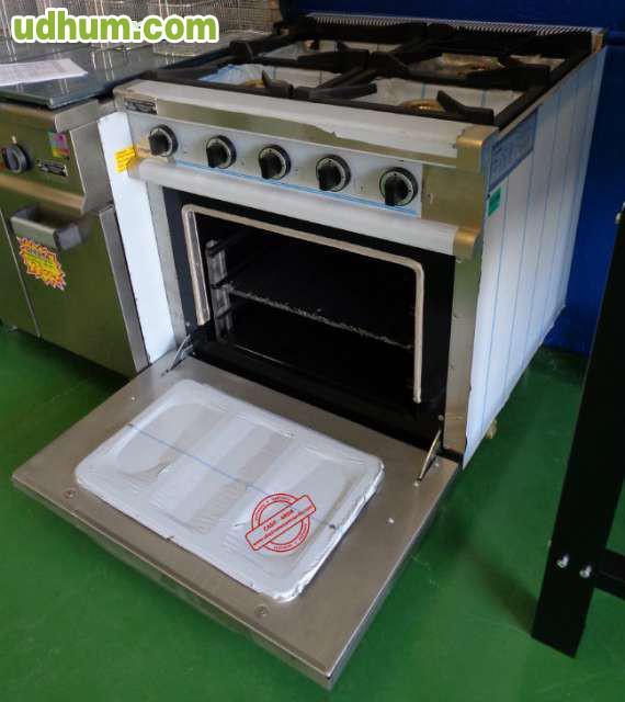 Cocina 4 fuegos con horno cm 754 h - Cocina con horno ...