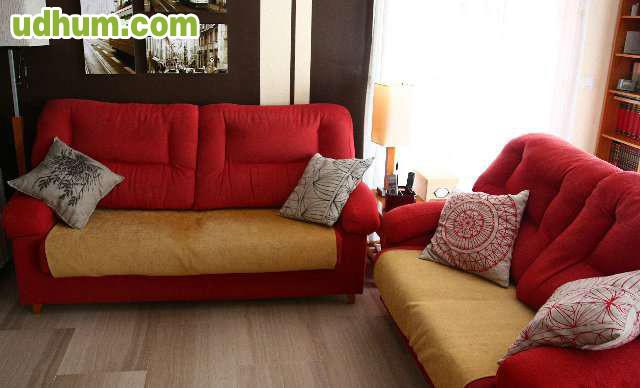 Conjunto Sofa De Dos Y Tres Plazas