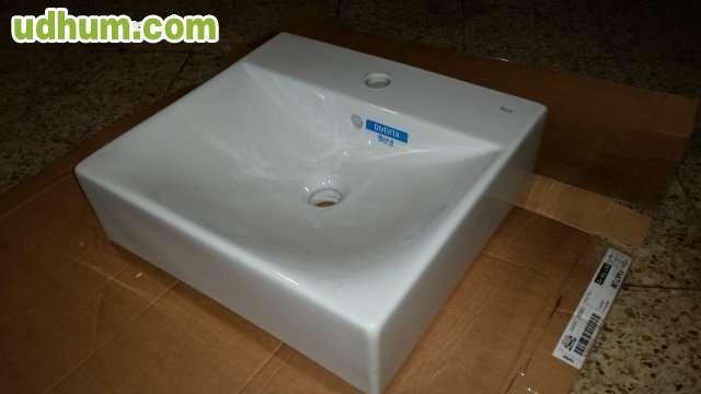 Lavabos i sanitarios roca diverta for Pica lavabo roca