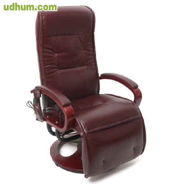 sillon relax masaje alta gama. Black Bedroom Furniture Sets. Home Design Ideas