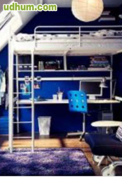 Cama elevada arriba ikea for Ikea camas sevilla