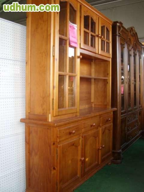 Mesa auxiliar madera maciza 80x50 for Milanuncios muebles granada