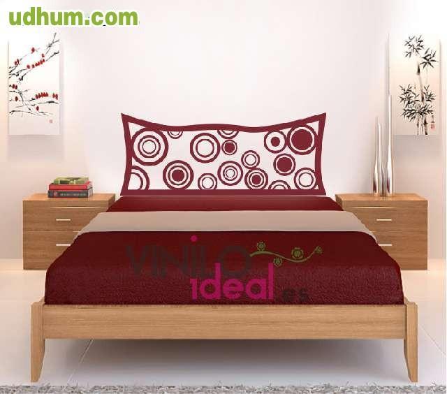 Vinilo decorativo cabecero para cama - Vinilos decorativos para cabeceros de cama ...