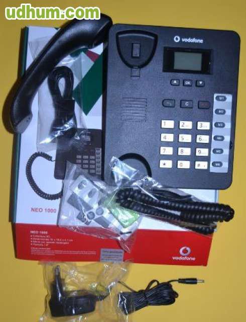 Tel fono movil aspecto fijo neo 1000 1 for Telefono oficina vodafone