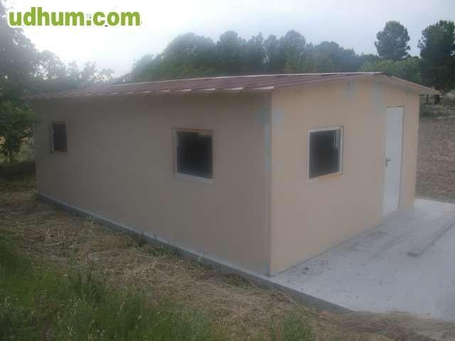 Casetas caballos for Casas y casetas prefabricadas