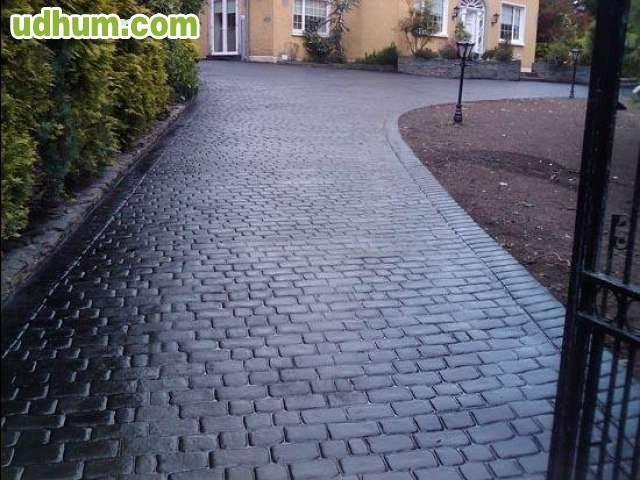Pavimento de hormigon impreso miguel for Pavimento de hormigon tarragona