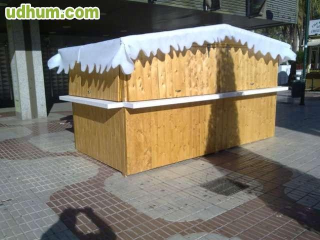 Fabricacion de casetas de madera for Fabricacion de bares de madera