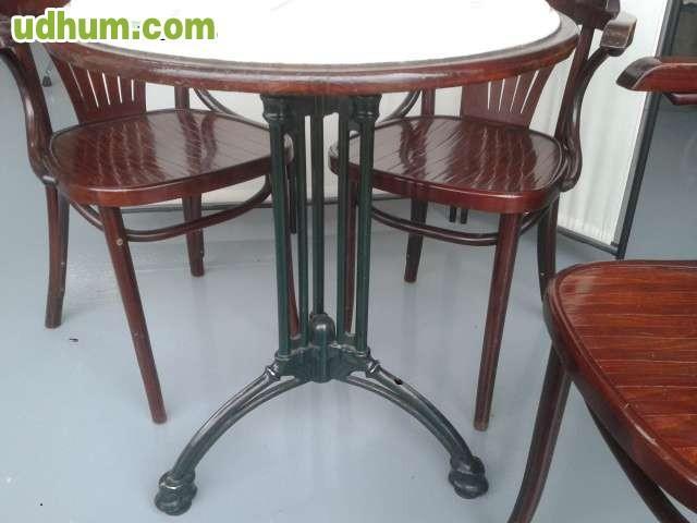mesas y sillas de segunda mano