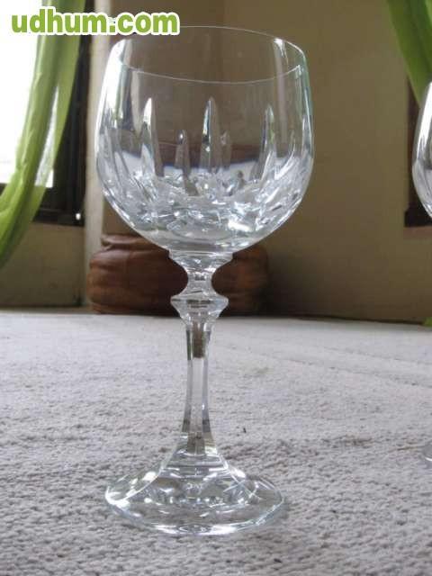 Juego de copas cristal de bohemia for Copas bohemia