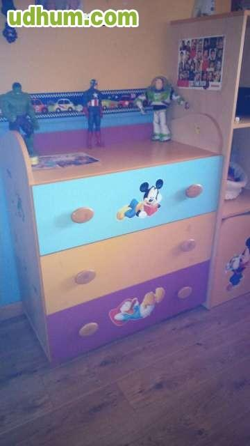 Habitacion infantil mickey mouse - Sinfonier infantil ...
