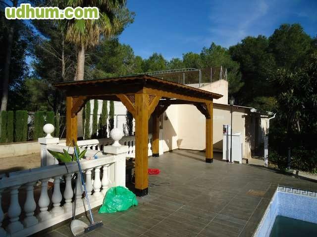 Denia javea teulada calpe moraira - Estructuras de madera laminada ...